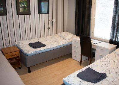 Makuuhuone D, kolmelle henkilölle